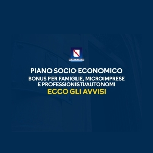 COVID-19 - PIANO SOCIO ECONOMICO DELLA REGIONE